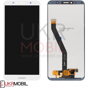 Дисплей Huawei Y6 2018 (ATU-L21), Y6 Prime 2018 (ATU-L31), Honor 7A Pro (AUM-L29), Honor 7C (AUM-L41), с тачскрином, Original PRC, White