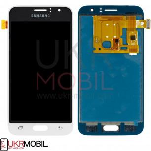 Дисплей Samsung J120 Galaxy J1 2016, с тачскрином, TFT (с регулируемой подсветкой), White