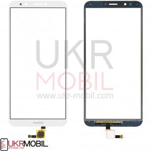 Сенсор (тачскрин) Huawei Y7 2018 (LDN-L01, LDN-L21, LDN-LX1), Y7 Prime 2018, Nova 2 Lite, Enjoy 8, Honor 7c (LND-AL30),  7C Pro (LND-L29), White
