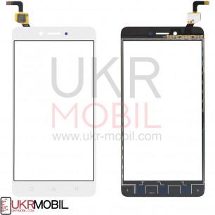 Сенсор (тачскрин) Lenovo K6 Note K53a48, White