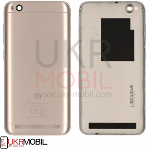 Задняя крышка Xiaomi Redmi 5a, Gold