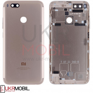 Задняя крышка Xiaomi Mi A1, Mi 5x, Original PRC, Gold