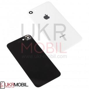 Задняя крышка Apple iPhone 8, с стеклом камеры, White