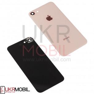 Задняя крышка Apple iPhone 8, с стеклом камеры, Gold