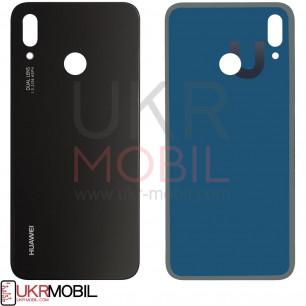 Задняя крышка Huawei P20 Lite, Nova 3e (ANE-LX1, ANE-LX3), High Copy, Midnight Black