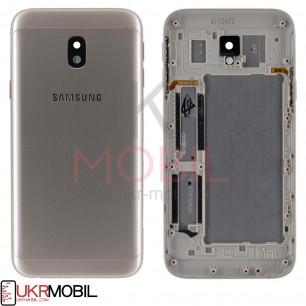Задняя крышка Samsung J330 Galaxy J3 2017, Gold