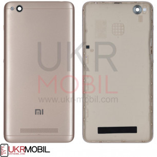 Задняя крышка Xiaomi Redmi 4a, Gold