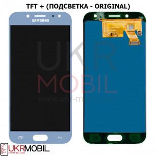 Дисплей Samsung J530 Galaxy J5 Pro 2017, с тачскрином, TFT (с регулируемой подсветкой), Blue