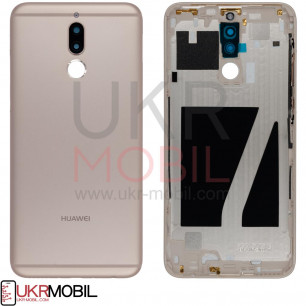 Задняя крышка Huawei Mate 10 Lite, Nova 2i (RNE-L01, L02, L03, RNE-L21, L22,  L23), Gold