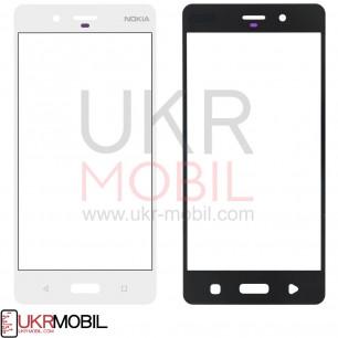 Стекло дисплея Nokia 8 TA-1004, TA-1012, White