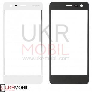 Стекло дисплея Nokia 2 Dual Sim TA-1007, TA-1029, TA-1035, White
