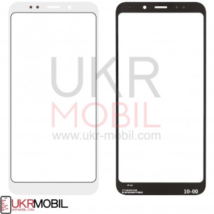 Стекло дисплея Xiaomi Redmi 5 Plus, High Copy, White