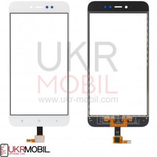 Сенсор (тачскрин) Xiaomi Redmi Note 5A Prime, White