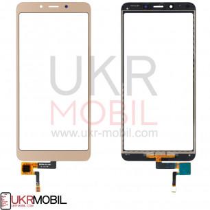 Сенсор (тачскрин) Xiaomi Redmi 6, Redmi 6a, High Copy, Gold