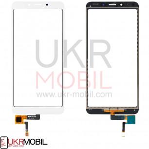 Сенсор (тачскрин) Xiaomi Redmi 6, Redmi 6a, High Copy, White