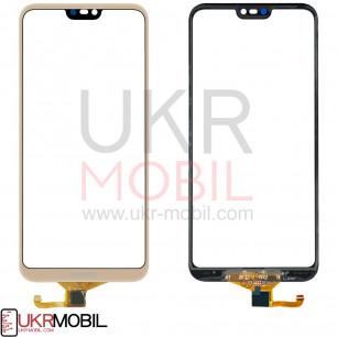 Сенсор (тачскрин) Huawei P20 Lite, Nova 3e (ANE-LX1, ANE-L21), High Copy, Gold