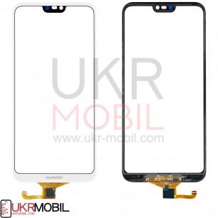 Сенсор (тачскрин) Huawei P20 Lite, Nova 3e (ANE-LX1, ANE-L21), High Copy, White