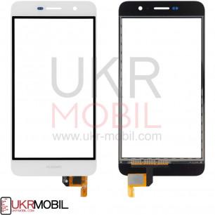 Сенсор (тачскрин) Huawei Y6 Pro (TIT-U02, TIT-AL00), Honor 4C Pro (TIT-L01), Enjoy 5, Honor Play 5X, High Copy, White