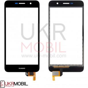 Сенсор (тачскрин) Huawei Y6 Pro (TIT-U02, TIT-AL00), Honor 4C Pro (TIT-L01), Enjoy 5, Honor Play 5X, High Copy, Black