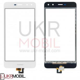 Сенсор (тачскрин) Huawei Y5 2017 (MYA-U29,MYA-L02, MYA-L22, L41), Y6 2017, Y5 III 2017, Honor 6 Play, Nova Young 4G LTE (MYA-L11), High Copy, White