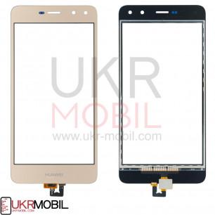 Сенсор (тачскрин) Huawei Y5 2017 (MYA-U29,MYA-L02, MYA-L22, L41), Y6 2017, Y5 III 2017, Honor 6 Play, Nova Young 4G LTE (MYA-L11), High Copy, Gold