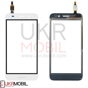 Сенсор (тачскрин) Huawei Y3 2017, Y5 Lite 2017 (CRO-U00, L02, L03, L22, L23), White