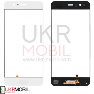 Сенсор (тачскрин) Huawei P10 (VTR-L29), со сканером отпечатка, White