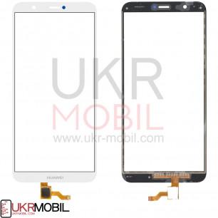Сенсор (тачскрин) Huawei P Smart (FIG-LX1), P Smart Dual SIM (FIG-L21, FIG-L23), Enjoy 7s, High Copy, White