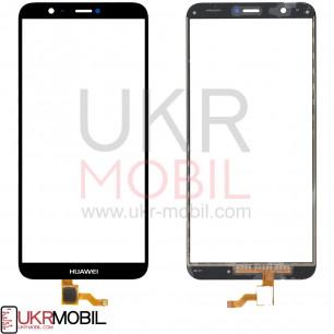 Сенсор (тачскрин) Huawei P Smart (FIG-LX1), P Smart Dual SIM (FIG-L21, FIG-L23), Enjoy 7s, High Copy, Black