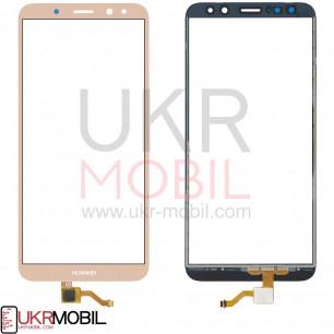 Сенсор (тачскрин) Huawei Mate 10 Lite (RNE-L01, RNE-L21), Nova 2i, High Copy, Gold