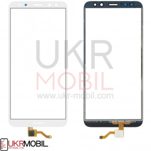Сенсор (тачскрин) Huawei Mate 10 Lite (RNE-L01, RNE-L21), Nova 2i, High Copy, White