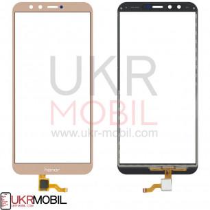 Сенсор (тачскрин) Huawei Honor 9 Lite ( LLD-L31, L11, TL10, AL10, AL00), High Copy, Gold