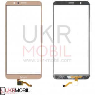 Сенсор (тачскрин) Huawei Honor 7X, (BND-L21, BND-L22, BND-L24, BND-AL10, BND-TL10), Gold