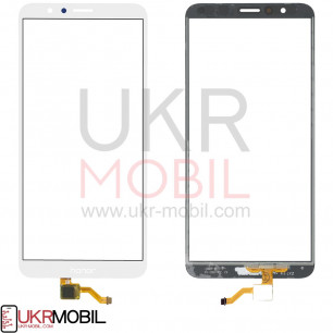 Сенсор (тачскрин) Huawei Honor 7X, (BND-L21, BND-L22, BND-L24, BND-AL10, BND-TL10), White