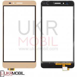 Сенсор (тачскрин) Huawei GR5 2016, Honor 5X (KIW-L21), Honor, Gold