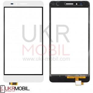 Сенсор (тачскрин) Huawei GR5 2016, Honor 5X (KIW-L21), Honor, White