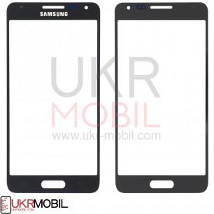 Стекло дисплея Samsung G850 Galaxy Alpha, Black
