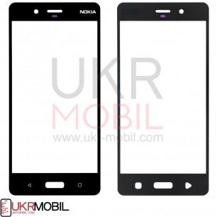 Стекло дисплея Nokia 8 TA-1004, TA-1012, Black