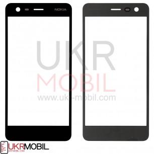 Стекло дисплея Nokia 2 Dual Sim TA-1007, TA-1029, TA-1035, Black