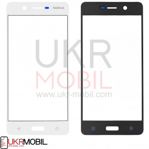 Стекло дисплея Nokia 5 Dual Sim TA-1024, TA-1053, White