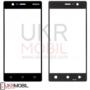 Стекло дисплея Nokia 3 Dual Sim TA-1020, TA-1028, TA-1032, TA-1038, Black