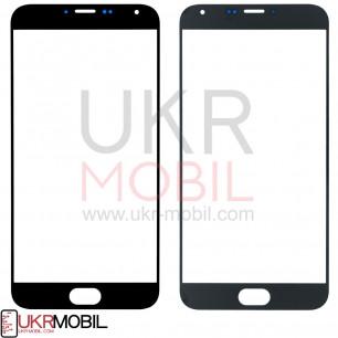 Стекло дисплея Meizu MX5 M575, MX5e, MX5e Lite, Black