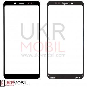 Стекло дисплея Xiaomi Redmi Note 5, Redmi Note 5 Pro, Black