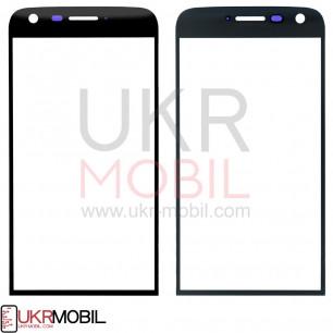 Стекло дисплея LG H820 G5, H830 G5, H850 G5, LS992 G5, US992 G5, VS987 G5, Black