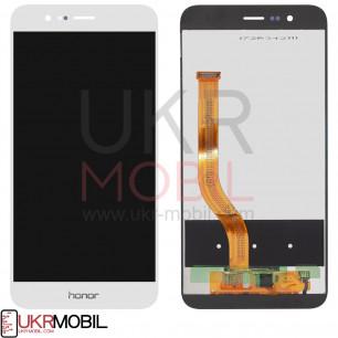 Дисплей Huawei Honor 8 Pro, Honor V9 (DUK-L09, DUK-AL20), с тачскрином, White
