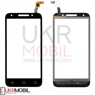 Сенсор (тачскрин) Alcatel One Touch U5 5044D, Black