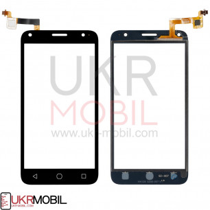 Сенсор (тачскрин) Alcatel 5010D One Touch Pixi 4, Black