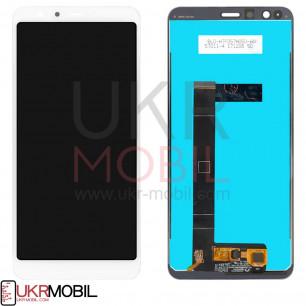 Дисплей Asus ZenFone Max Plus M1 ZB570TL, с тачскрином, Original PRC, White