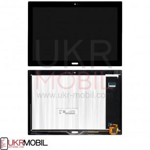 Дисплей Lenovo Tab 4 10 Plus X704L, с тачскрином, Black, Original