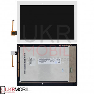 Дисплей Lenovo Tab 2 A10-70F, A10-70L с тачскрином White